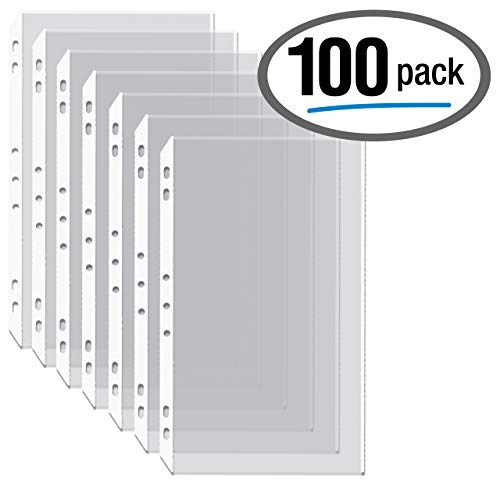 Legal Sheet Size Protectors - 100/Box Legal Size Clear Heavyweight Poly Sheet Protectors, by Gold Seal, 8.5