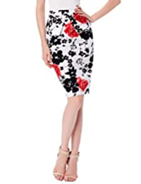 GRACE KARIN Women's High Waist Stretch Bodycon Midi Pencil Skirt