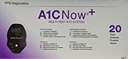 A1CNow+, Hba1c Blood Monitor w/ Sampler, 20 Test Kit