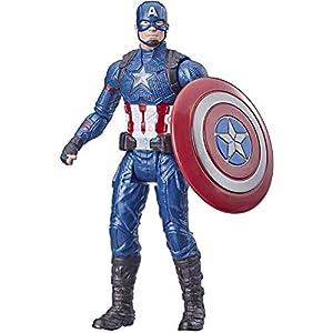 Avengers Marvel Captain America 6″-Scale Marvel Super Hero Action Figure Toy