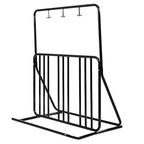 Bicycle Parking Storage Rack 1-6 Bikes Steel Park Stand 2/3/4/5 Black by Lotus Analin
