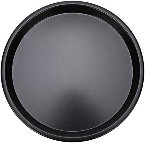 Baking Tray 10 Inch Black Aluminum Die Casting Round Shape Baking Tray Non-Stick Pizza Tray Baking Tool Accessories for making kinds of pizzas / Baking Tray 10 Inch Black Aluminum Die Casting Round Shape Baking Tray Non-Stick Pizza...