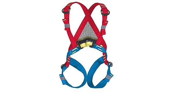 BEAL Bambi II - Arnés de escalada, color azul/rojo: Amazon.es ...