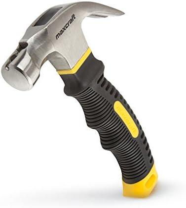 Maxcraft 60626 8-oz. Stubby Claw Hammer