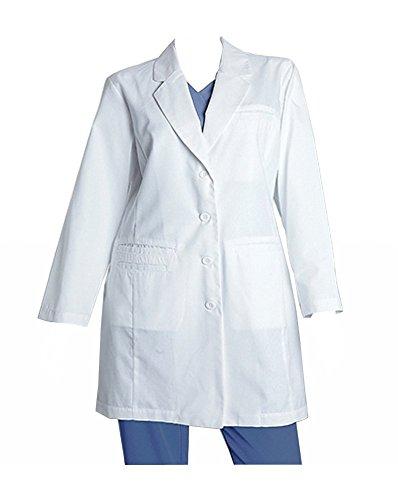 Coat Lab Barco - Barco 27172 Women's Labcoat (White, 14)