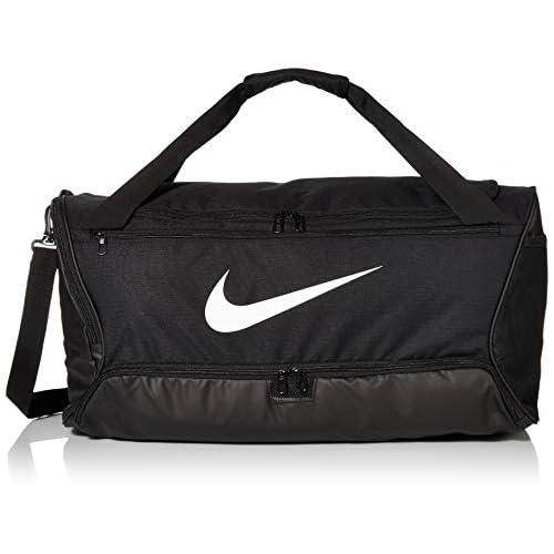 Nike Nk Brsla M Duff 9 0 60l Gym Bag Unisex Adulto Black Black White MISC