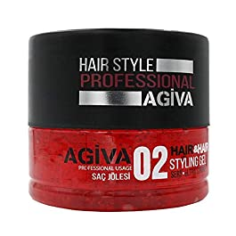 Agiva Hair Styling Gel 02 Ultra Strong Hold Wet Look 24oz
