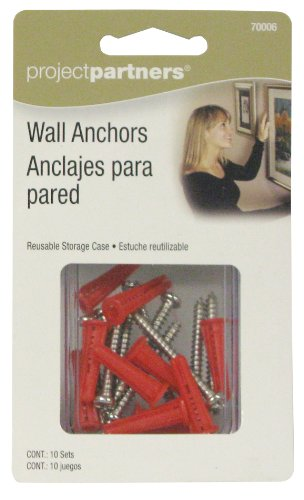 Project Partner 70006 Wall Anchors by ProjectPartner