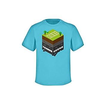 Tenis frikis camiseta - niños - Azul Atoll, GRÖßE (Sw 351):116 (Sw 2055): Amazon.es: Deportes y aire libre