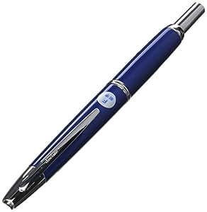 Pilot Fountain Pen Capless Decimo, Dark Blue Myca Body, F-Nib