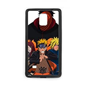 Samsung Galaxy Note 4 Cell Phone Case Black road to ninja by narutocolorSLI_813574