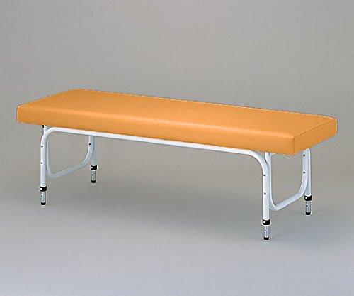 8-7702-02診察台[3段調節式]600×1900mm淡オレンジ   B07BDNNBGT