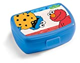 NICI 41872 Elmo Cookie Monster Sesame Street Sandwich Lunch Box and 5/8 'x 6.8 cm