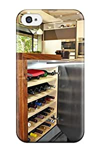 Slim Fit Tpu Protector Shock Absorbent Bumper Concealed Wine Storage In Kitchen Island Case For Iphone 4/4s