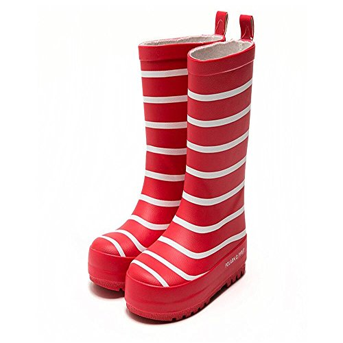 Price comparison product image Bon Soir Kids Rain Boots Waterproof Rubber Printed in Various Prints and Different Sizes