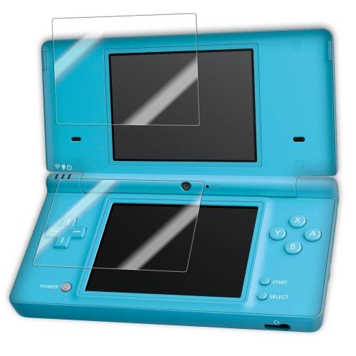 Nintendo DSi Screen Protector, IQ Shield® LiQuidSkin Full Coverage Screen Protector for Nintendo DSi HD Clear Anti-Bubble Film - with Lifetime (Dsi Clear Screen)