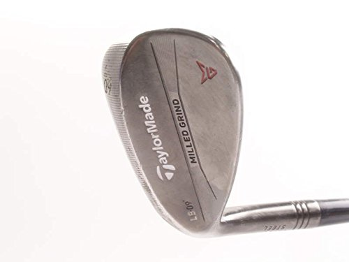 TaylorMade Milled Grind Antique Bronze Wedge Lob LW 60 9 Deg Bounce M Grind Project X 6.5 Steel X-Stiff Left Handed 34.75 in ()