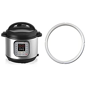 Instant Pot DUO60 6 Qt 7-in-1 Multi-Use Programmable Pressure Cooker & Sealing Ring (Ship separately)