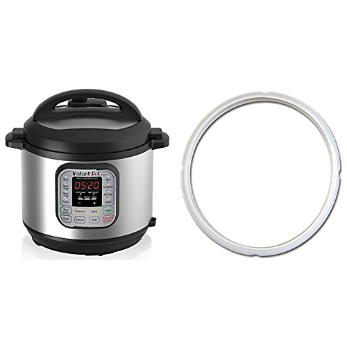 : Instant Pot DUO60 6 Qt 7-in-1 Multi-Use Programmable Pressure Cooker & Sealing Ring (Ship separately)