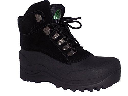 Itasca Icebreaker Womens Black Warm Winter Snow Boots (6, Black) ()