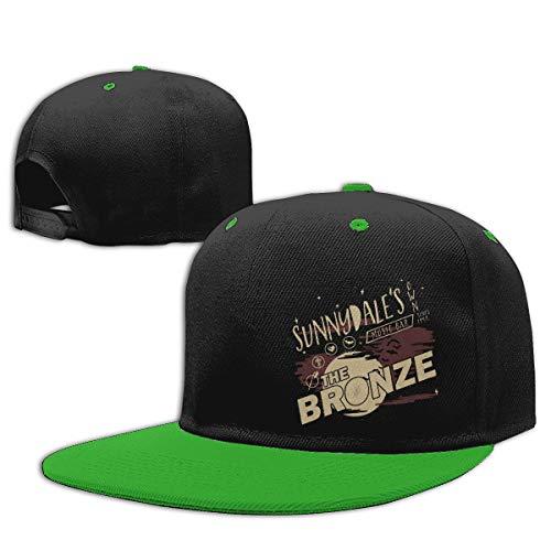 Vdaras Boys Girls Hat Buffy The Vampire Slayer Sunnydale Night Club Baseball Caps Green]()