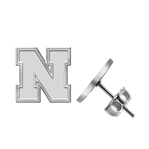 Nebraska Cornhuskers Earring - Small Stud - See Image on Model for Size Reference (Nebraska Cornhuskers Earring)