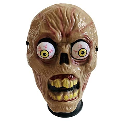 hefeilzmy Halloween Horror Mask Spring Eyes Mask Halloween Costume Party Props(Zombie) -