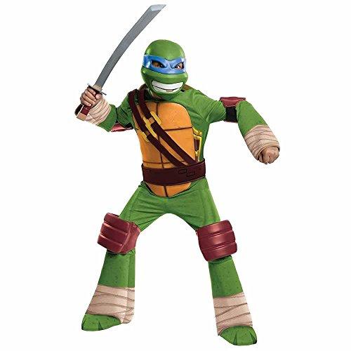 Teenage Mutant Ninja Turtles Deluxe Leonardo Costume, Small