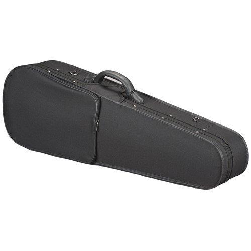 Toshira Shaped Violin Case Black Blue 1/8 Size