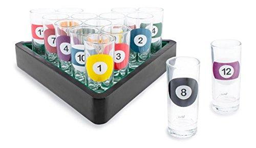 Novelty Shot Glass Bar Set