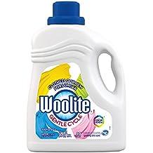 Woolite Gentle Cycle Liquid Laundry Detergent, Sparkling Falls Scent, 100 oz/ 50 loads