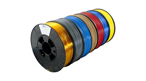 ICE FILAMENTS ICE7VALP054 ABS+ Filament, 1,75 mm, 0,75 kg, Brave Black (Lot de 7)