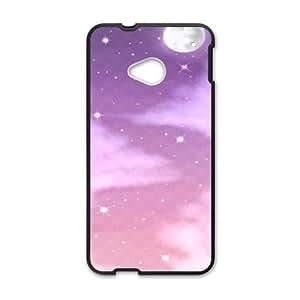 HTC One M7 phone case Black Sky Background SYT9762166