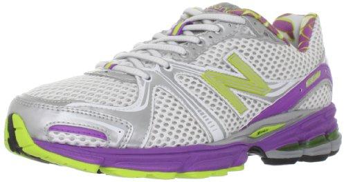 New Balance Womens W880 Alpha Running Shoe White/Purple