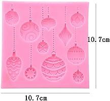 WDYJMALL - Molde de silicona para fondant con forma de globo de ...