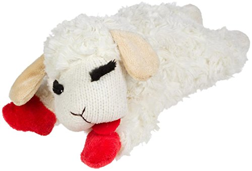 Multipet Holiday Lambchop Toy Medium product image