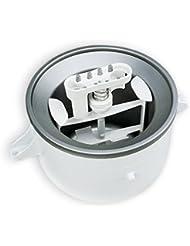KitchenAid CERTIFIED REFURBISHED KICA0WH 2 Quart Ice Cream Maker Stand Mixer Attachment