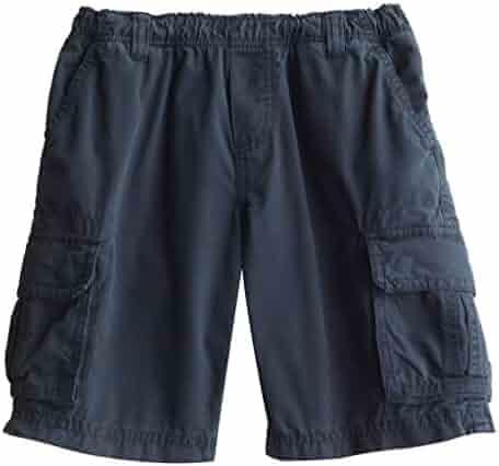 904683307 Daniel Jacob Big Boys  Husky Ripstop Cargo Shorts Full Elastic