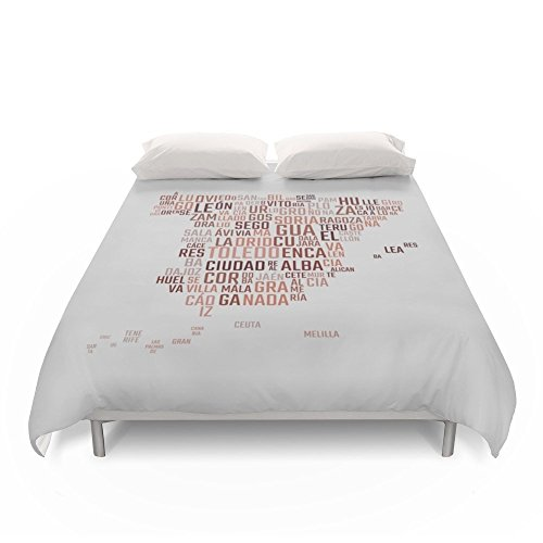 Society6 Spain Duvet Covers King: 104'' x 88'' by Society6