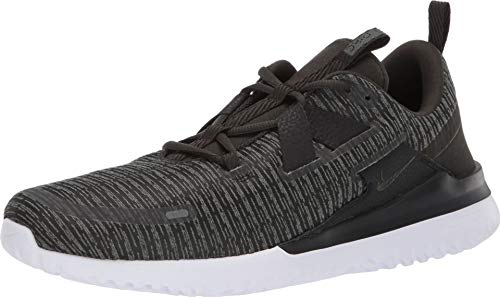 Nike Men's Renew Arena Running Shoes (US 12, Mineral Spruce/Sequoia-Black-White)