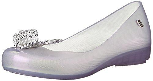 Mini Melissa Ultragirl Cinderella INF Slip On Flat (Little Kid), Clear, 1 M US Little Kid (Cinderella Shoes Kids)