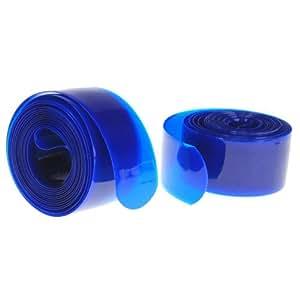 Banda Cinta Protector PU Antipinchazos Azul para Bicicleta MTB 237cm