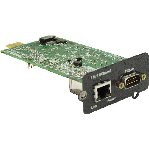 Liebert, Intellislot Web Card Remote Management Adapter Liebert, Intellislot 10Mb Lan, 100Mb Lan, Rs-232 10Base-T, 100Base-Tx For Liebert, Gxt3 ''Product Category: Ups/Power Devices/Other Ups Accessories'' by Original Equipment Manufacture (Image #1)