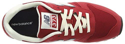 New Balance 373 - Zapatillas para hombre Red / White