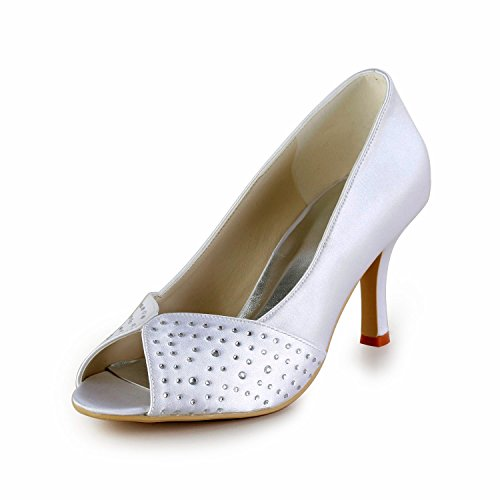 Minitoo , Sandales pour femme - beige - Ivory-8cm Heel,