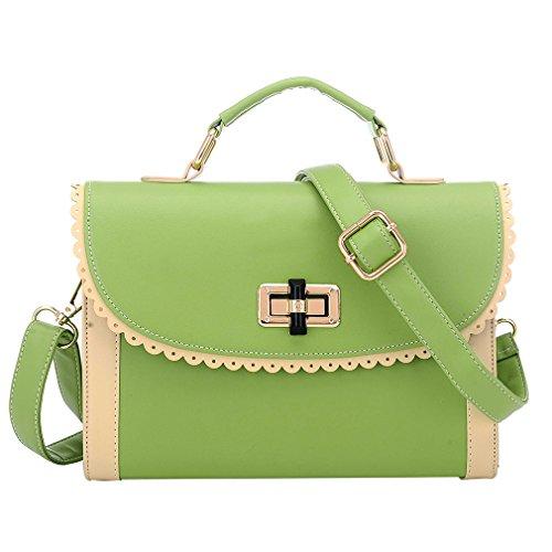 Latest Popular Cross Body Bag Shoulder Bag Satchel Small Handbag For Womens Green