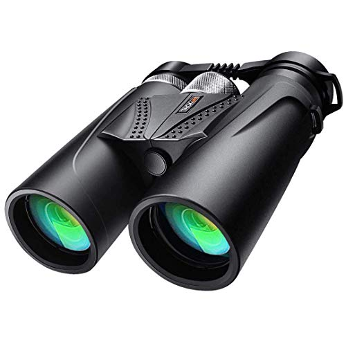 Binoculars, 10x42 Prism Binoculars for Adults, Professional HD Telescope for Birds Watching Concerts Hunting with BAK4 Prism FMC Lens, Aluminum Alloy Focus Ring, L-Shaped Bracket, Carrying Bag - MBC02