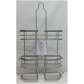 Habitat Hose Shower Caddy, Powder Nickel