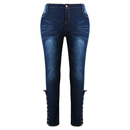 Bleu iDeesse iDeesse Femme Jeans Jeans Femme 7w0wPC4q