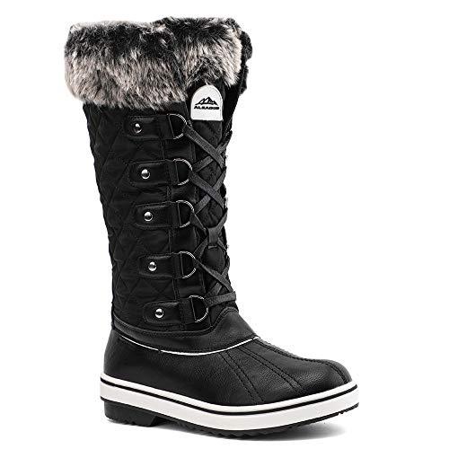 ALEADER Womens Waterproof Winter Snow Boots